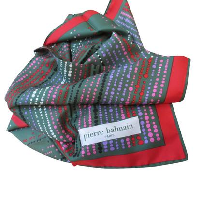 Pierre Balmain silk scarf