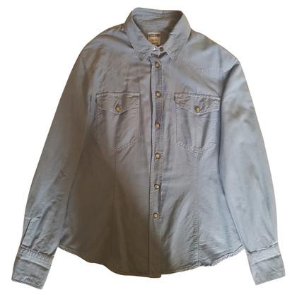 Moschino Shirt blouse in light blue