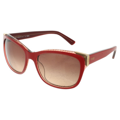 Fendi Sunglasses in red