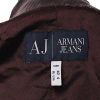 Armani Jeans Koordblazer in bruin