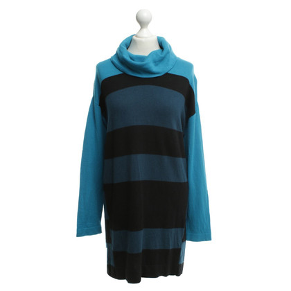 Luisa Cerano Knitted dress with striped pattern