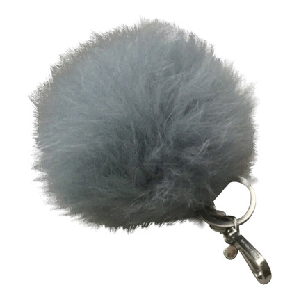 Michael Kors pendant made of fake fur