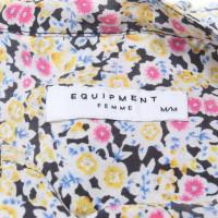Equipment Camicia con un motivo floreale