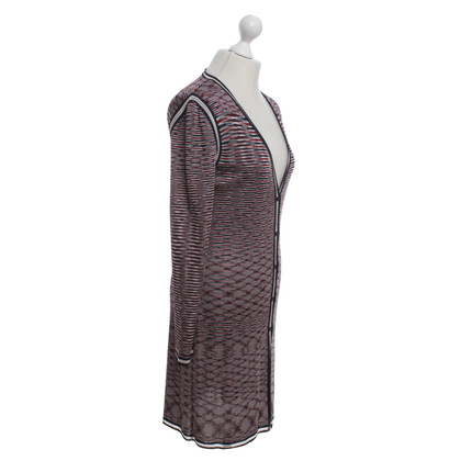 Missoni Lang vest met strepen decor