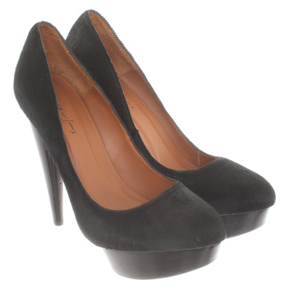 Elizabeth & James Plateau-Pumps op zwart