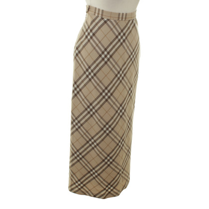 Burberry skirt pattern