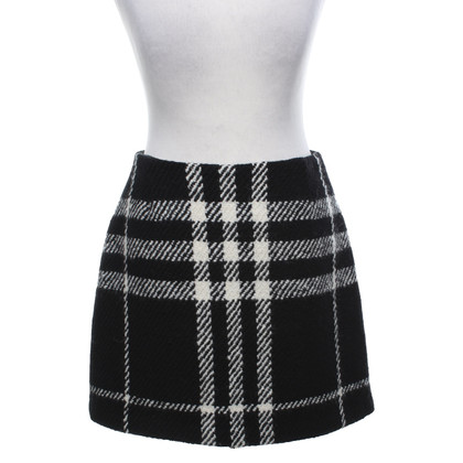 Burberry skirt with checked pattern