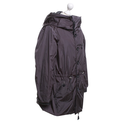 Moncler giacca reversibile in grigio
