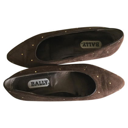 Bally Nice brown suede Bally pumps