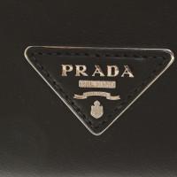 Prada Handtasche in Schwarz/Bordeaux