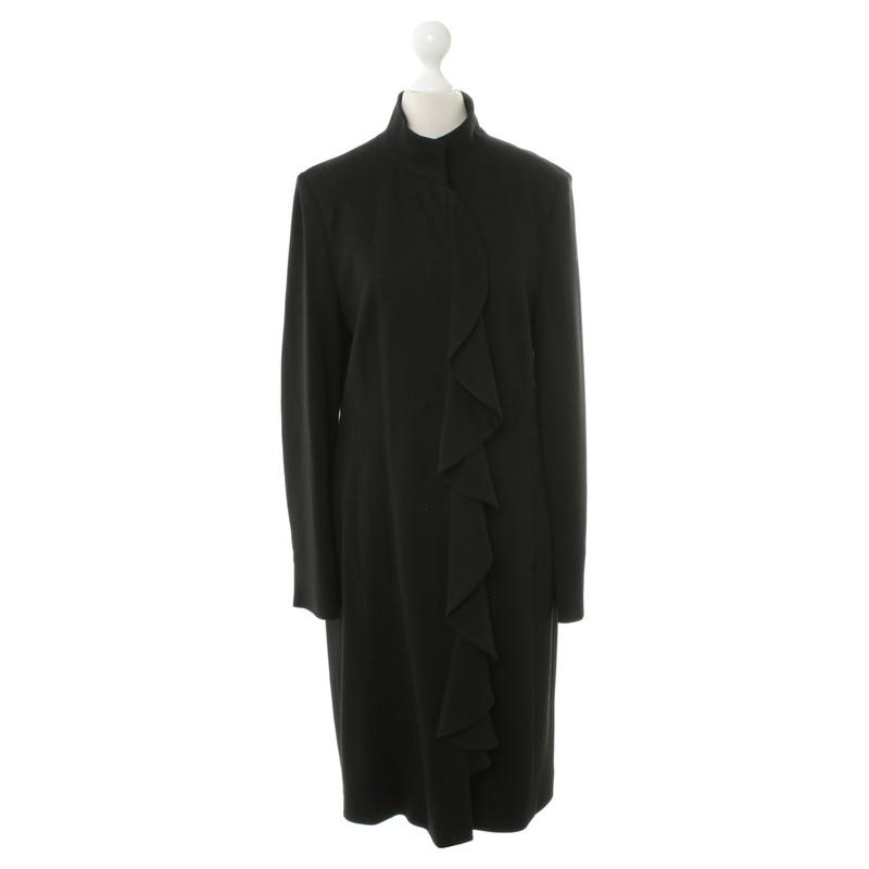 st emile mantel in schwarz second hand st emile mantel in schwarz gebraucht kaufen f r 110. Black Bedroom Furniture Sets. Home Design Ideas