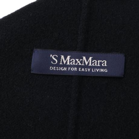 in Schwarz Schwarz Mara Max Max Mara Wolljacke Wolljacke q0pXxY