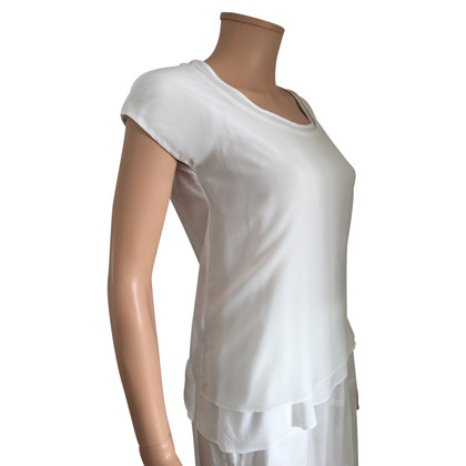 Comptoir des Cotonniers top with silk insert