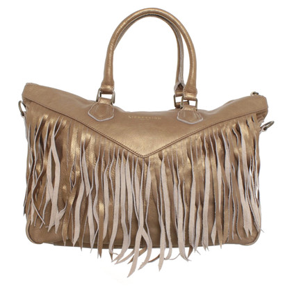 Other Designer Liebeskind - Leather bag with fringes