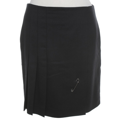 Cinque Pleated skirt in black