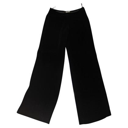 Jean Paul Gaultier Pantaloni ampi in velluto