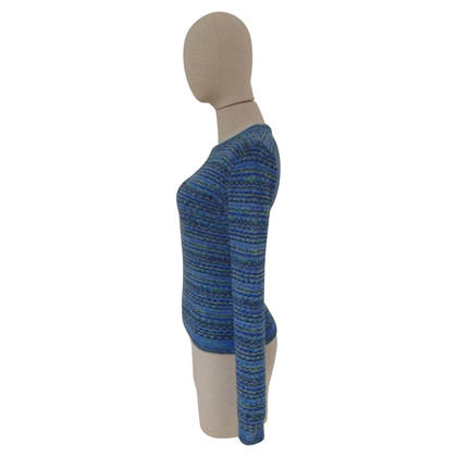 Missoni Missoni blu cotton sweater