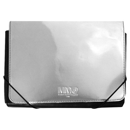 MM6 by Maison Margiela Silver colored clutch