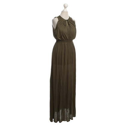Theory Maxi dress in green
