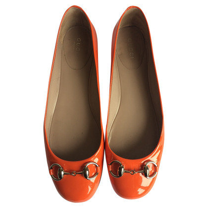 Gucci Oranje prinsetown ballerinas