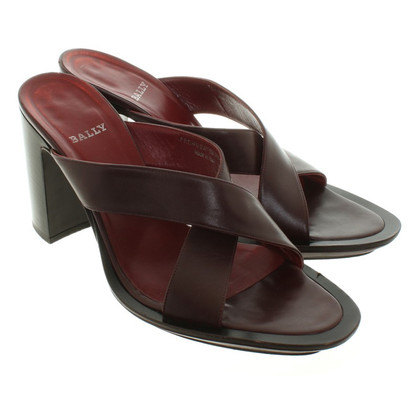 Bally Sandals in Bordeaux
