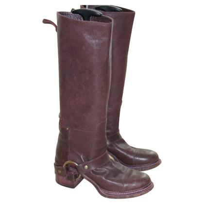 Dolce & Gabbana Biker Boots
