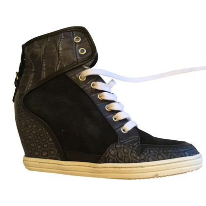 Hogan Schwarze Sneakers