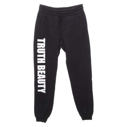 MSGM Sweatpants in bi-color