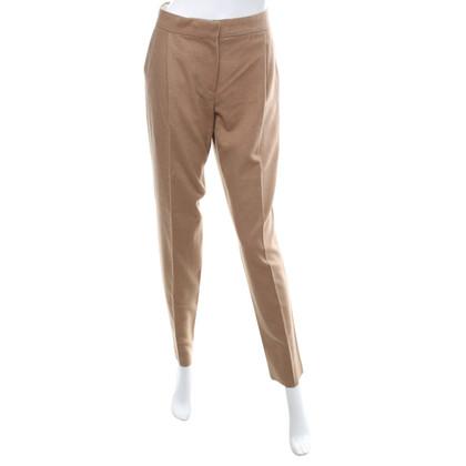 Max Mara pantaloni stropicciati in pelo di cammello