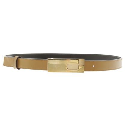 Gucci Camel leather belt