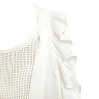 Isabel Marant top in cream white