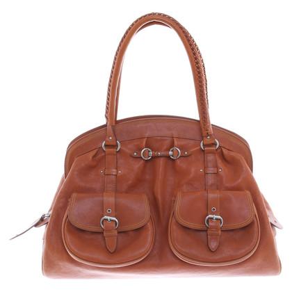 Christian Dior Handtasche in Braun