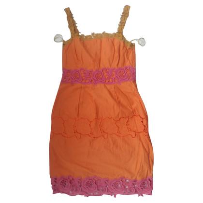 Philosophy di Alberta Ferretti Cotton dress