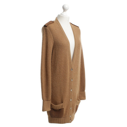 Salvatore Ferragamo Strickjacke in Braun
