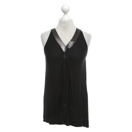 Armani Jeans top in black