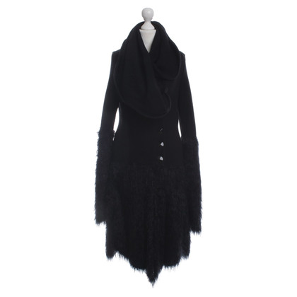 Armani Knitted coat in black