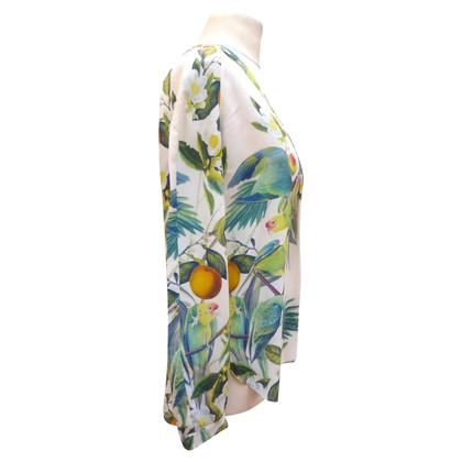 Iris von Arnim Silk blouse with print