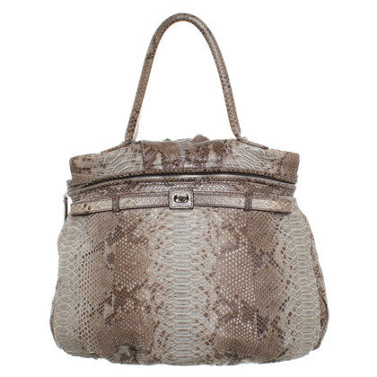 Zagliani Handtasche in Reptil-Optik