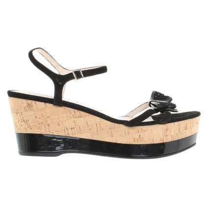 Armani Wedges with cork sole