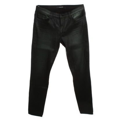 J Brand Jeans in metallic-look