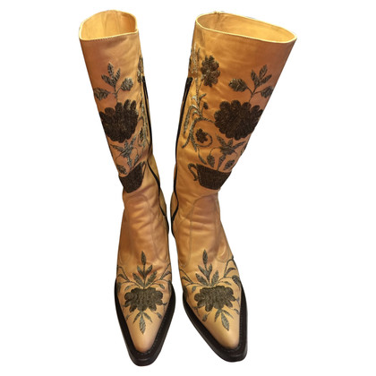 Gianni Barbato Boots with embroidery