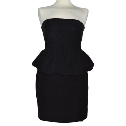 Acne Bandeau dress in black
