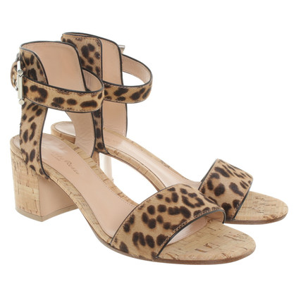 Gianvito Rossi Sandales en conception animale