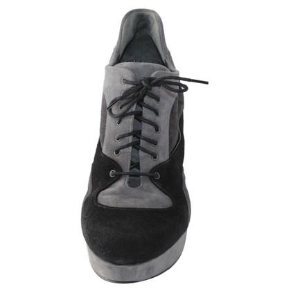 Stuart Weitzman Suede ankle shoe