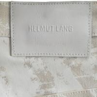 Helmut Lang Hose in Weiß/Beige