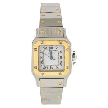 """Cartier Clock """"Santos Lady"""""""