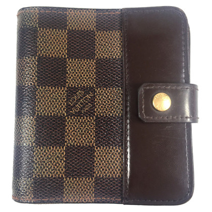 Louis Vuitton Wallet made Damier Ebene Canvas