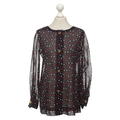 Givenchy Bluse mit Punktemuster