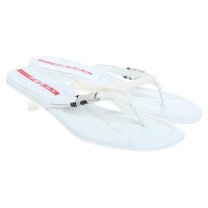 Prada White sandals