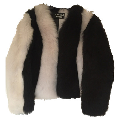 Moschino Lambs Skin and Fur jacket